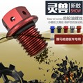 Spirit Beast motorcycle al mg alloy gear oil magnetic screw very cool styling 15mm for Yamaha