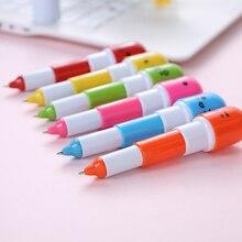 5pcs Cute Kawaii Capsule Creative Pills Ball Pens Ballpoint Pen For School Writing Supplies Stationery стоимость
