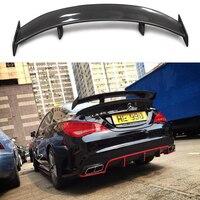 GT Spoiler Wing Lid For Mercedes Benz CLA CLASS W117 CLA45 Carbon Fiber Rear Trunk Spoiler 2013 2014 2015 2016