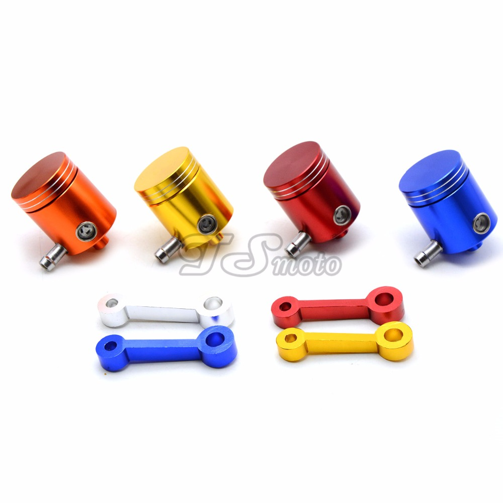 new For Universal Motorbike Universal Front Motorcycle Brake Fluid Reservoir Oil Cup Fit for CBR 600 900 1000RR 919 929 954 VFR universal motorcycle brake fluid reservoir clutch tank oil fluid cup for mt 09 grips yamaha fz1 kawasaki z1000 honda steed bone