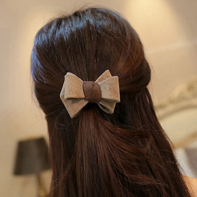1pcs Bows Ribbon Hair Clips And Clips Hairpins Hair Accessories For Women Hairgrip Girl Hairclips Barrette Headwear Headband women girl bohemia bridal camellias hairband combs barrette wedding decoration hair accessories beach headwear