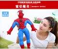 standing Spider-Man Toy plush Spider Man doll birthday gift w5317