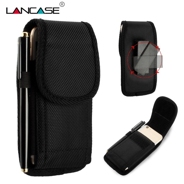 promo code 96aef 95dac US $6.56 |LANCASE For iPhone X(10) Sports Belt Clip Waist Bag For iPhone 5S  Case Pouch Mobile Phone Bag Cases For iPhone 6 6S 7 8 Plus-in Phone Pouch  ...