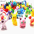 Yamala 144 Pcs/lot 2-3 cm Poke go Pikachu Action Figure Toys Cartoon Anime Mini Collections Birthday Gifts Cartoon pikachu toy