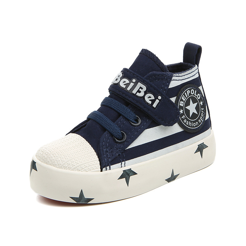 2017 New Sutumn Children Shoes Fashion Boy Canvas Shoes Lace Up Girl Boots High Quality Kids Sneakers Boy Flats Shoes