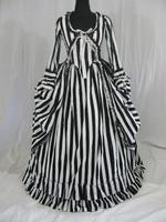 Katrina Sleepy Hollow Colonial Polonaise Party Dress Costume