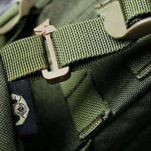 10x Outdoor Army Webbing Strap Buckle Hanging Belt Clip Key Holder Adjustable Slimwaist Molle Tactical Backpack Straps