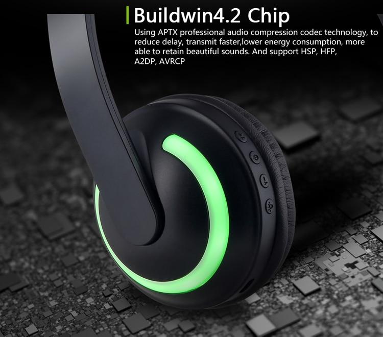 E2232 Flashing Cosplay LED light Cat Ear Headphone (5)