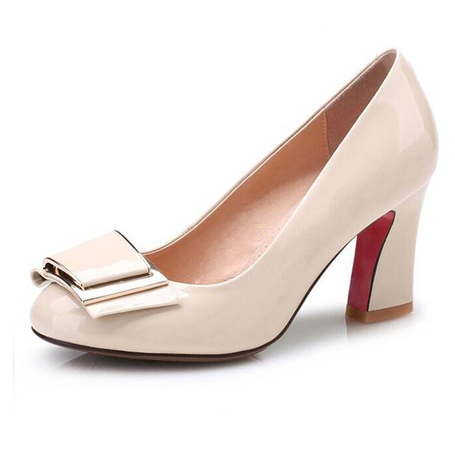 2016 Tamaño Grande 4.5-10 Mujeres Bombas Sexy inferiores rojos de los altos talones marca Nuevo Diseño de Tacones Altos Zapatos de Mujer Zapatos de Fiesta de Bodas s201