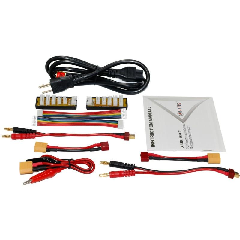 HTRC C240 DUO AC 150 W DC 240 W 10Ax2 double canal RC LiPo batterie Balance chargeur livraison gratuite - 5