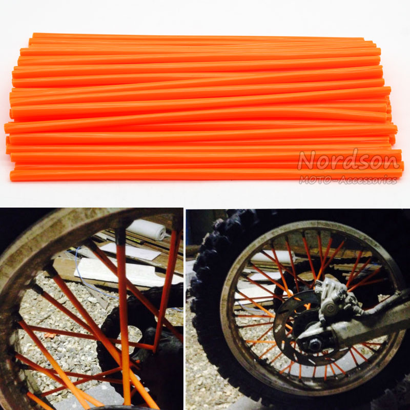 Motocross Spoke Skins Wheel RIM Spoke Covers For HONDA Motocycle Dirt Bike skins skins dnamic
