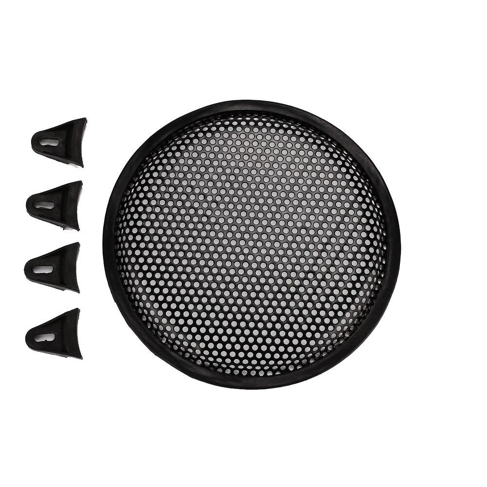 Vehemo 8/10/12 дюймов интерьера литье Динамик крышка аудио Динамика сабвуфера автомобиля крышка сабвуфера Динамик аудио - Цвет: 8 inch