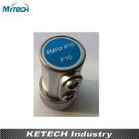 4MHz 10mm Dual Straight Beam Probe F10 Transducer