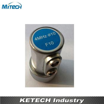 4 MHz 10mm podwójny proste wiązki sondy F10 przetwornik tanie i dobre opinie MiTeCH 4MHz 10mm F10