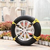 CARPRIE Snow Chains Anti Skid Tire Chain Snow Belt Easy Installation Simple Winter Truck Car Tire