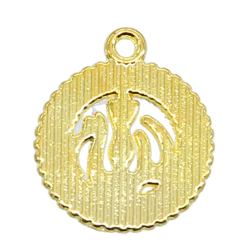 6pcs Nuovo Arrivo Oro Argento Colore Islam Musulmano Islamico di Cristallo Pendenti con gemme e perle Dio Allah Fascino Del Pendente Del Rhinestone Dei Monili di Regalo di Ramadan
