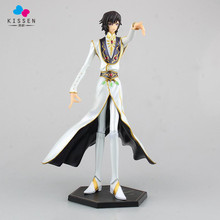Kissen Code Geass Lelouch Lamperouge Action Figure Emperor Clothes Ver. Lelouch Doll PVC figure Toy Brinquedos Anime 27CM