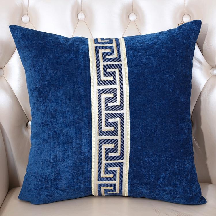 High-end Patchwork polštářový potah pro sedací sedací soupravu - Bytový textil