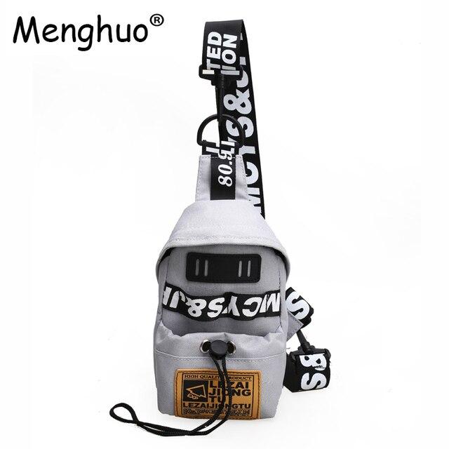 Menghuo 2018 New Fashion Women Crossbody Bags Female Chest Bag Casual Shoulder Handbag For Women's Wallet Bags Handle Bag