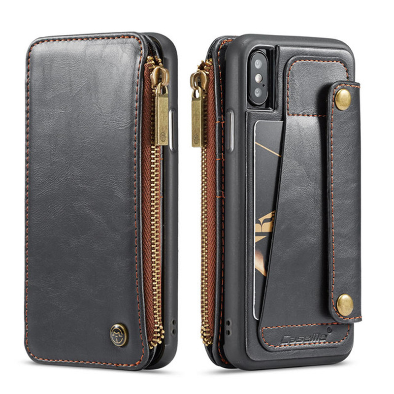 Flip Leather Wallet Case For iPhone X XR XS Max 6 6S 7 8 Card Slot Holder Cover For Apple iPhone 6 6S 7 8 Plus X 10 Wallet CasesFlip Leather Wallet Case For iPhone X XR XS Max 6 6S 7 8 Card Slot Holder Cover For Apple iPhone 6 6S 7 8 Plus X 10 Wallet Cases