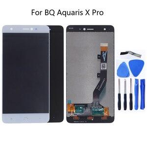 Image 1 - Für BQ Aquaris X Pro Screen LCD Display Für BQ Aquaris x LCD Display Touch Screen Digitizer Ersatz Zeigen Freies verschiffen