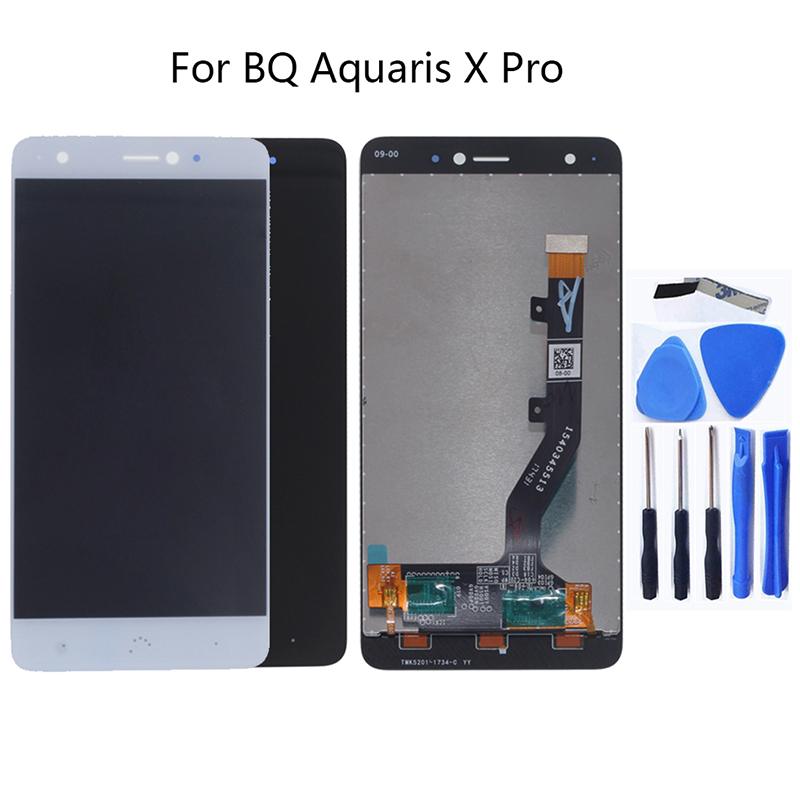 For BQ Aquaris X Pro Screen LCD Display For BQ Aquaris x LCD Display Touch Screen Digitizer Replacement Show Free Shipping-in Mobile Phone LCD Screens from Cellphones & Telecommunications