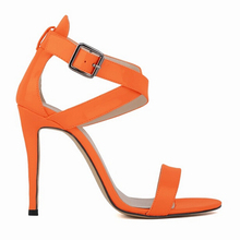 2017  Europe and the new summer open-toed sandals with thin straps cross sexy high heels shoes woman w854