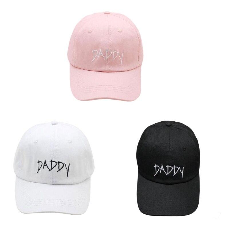 0906eb196de Daddy Dad Hat Baseball Cap Polo Style Adjustable Cotton Baseball-in ...