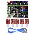 3D Drucker Teile Motherboard Mit 5 Pcs A4988 Treiber Controller Board für MKS Gen L V1.0 QJY99
