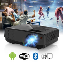 New Arrival LED Android WiFi Projector Bluetooth Home Theater Beamer Mobile Full HD Video