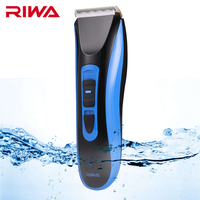 RIWA RE 750A New Rechargeable Cordless Hair Clipper Hair Trimmer Haircut Titanium Ceramic Blade Electric Hair