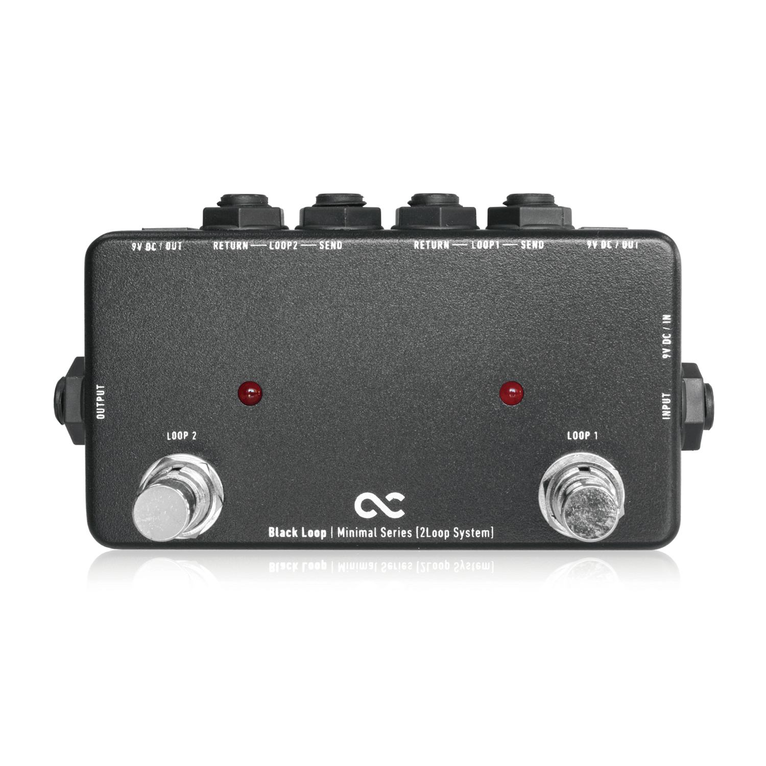 Japan One Control Black Guitar Effect Pedal True Bypass Line Selector Switching DC Outs Loop 2 mooer ensemble queen bass chorus effect pedal mini guitar effects true bypass with free connector and footswitch topper