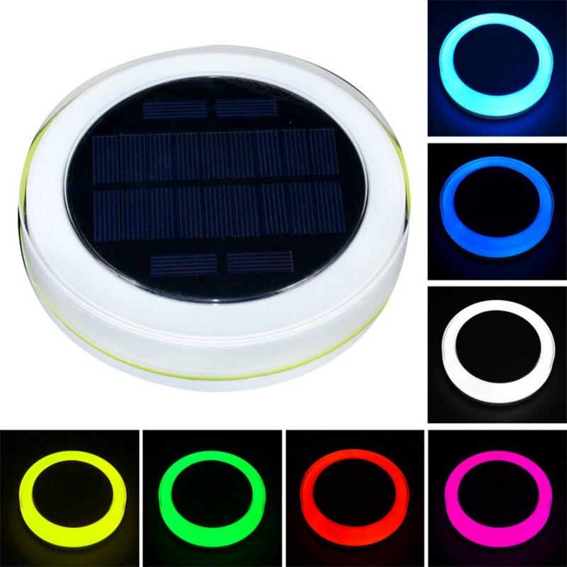 solar led piscina luz rgb controle remoto 16 cores flutuante paisagem luzes da noite lagoa luzes
