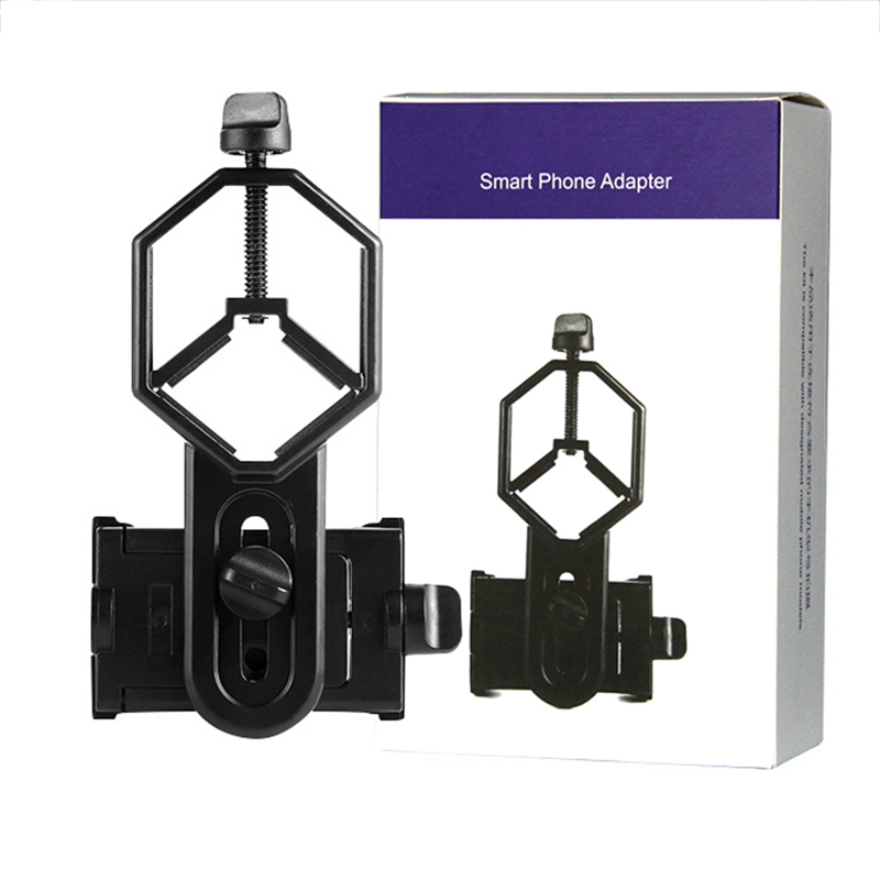 Adapter Clip Spotting Outdoors Tools Microscope Astronomical Camera Adapter Holder Scopes Universal Mobile Phone