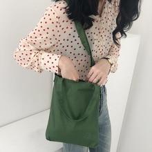 цена на Green canvas Embroidery single shoulder bag schoolgirl hundred art oblique cross bag simple environmental protection handbag