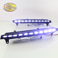 With Yellow Turning Function LED Daytime Running Light LED DRL For Audi Q7 2006 2007 2008
