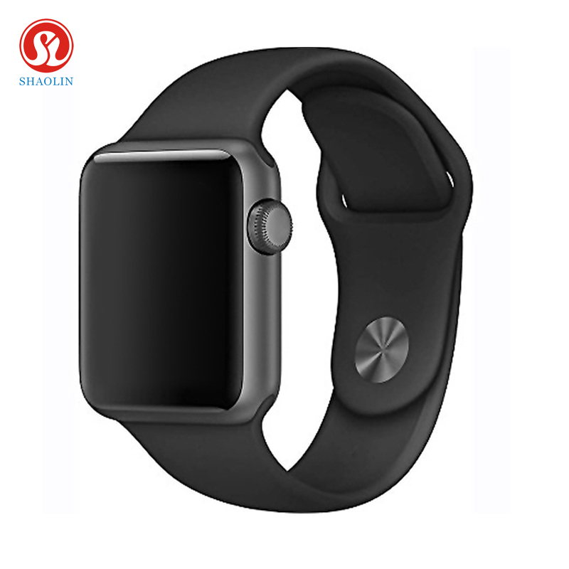 SHAOLIN Bluetooth Smart Watch Heart Rate Monitor Smartwatch Wearable Devices for iPhone IOS and Android Smartphones apple watch 2017 bluetooth smart watch iwo 3 heart rate monitor iwo 2 upgrade 42mm iwo 1 1 3rd generation smartwatch w52 for ios android