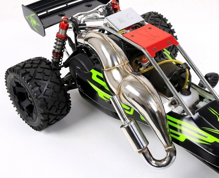 alloy power riser exhaust pipe tuned pipe for HPI KM ROVAN 1//5 Baja 5B SS