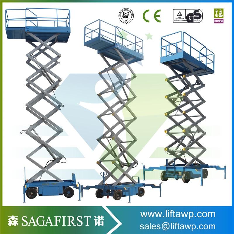 Mobile Hydraulic Elevator Lift Scissor Lift With Good Price