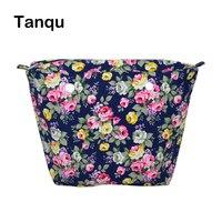 TANQU New Colorful Waterproof Inner Lining Insert Zipper Pocket For Classic Mini Obag Canvas Inner Pocket