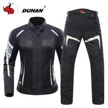 DUHAN Women Motorcycle Jacket Breathable Moto Jacket Protect