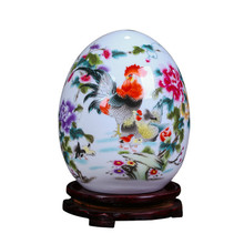 Ceramic Lucky Egg Ornaments