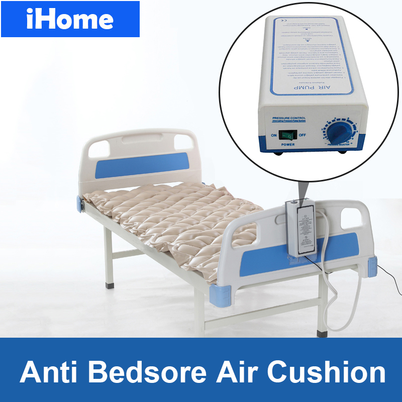 Colchón de aire de presión alterna de cama de Hospital médico con bomba de prevención de llaveros y cojín de Masaje Neumático Decubitus-in Cojín from Hogar y Mascotas    1