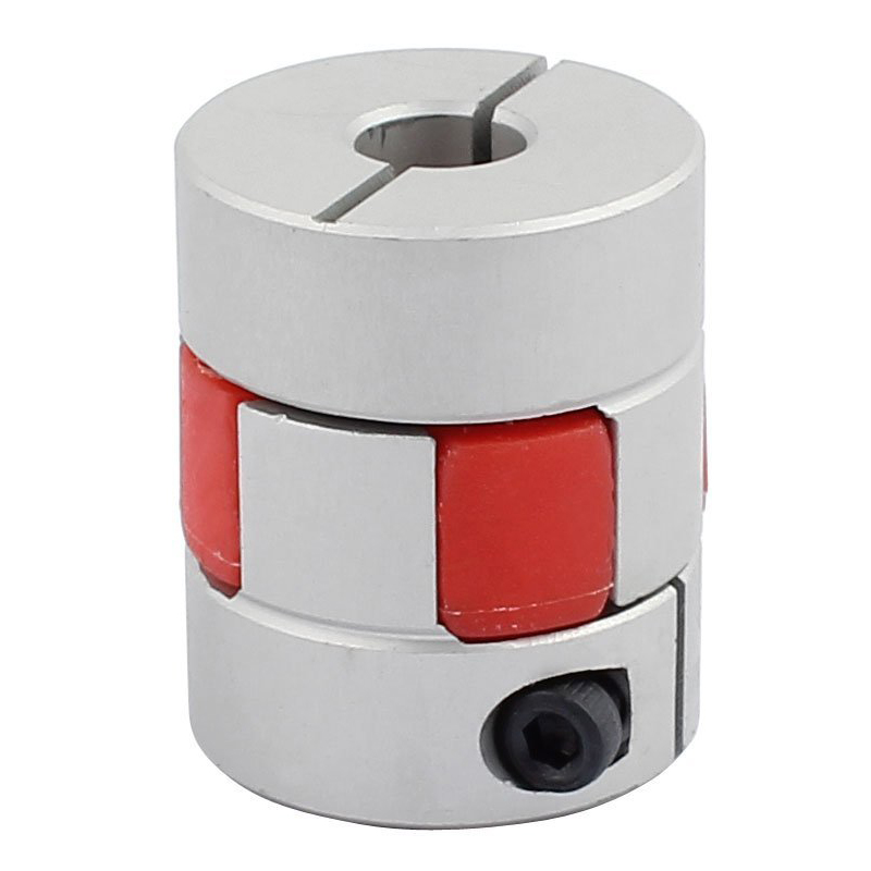 8mm to 10mm Shaft Plum Shaped Elastic Coupling Coupler 25mm Diameter 3cm Length