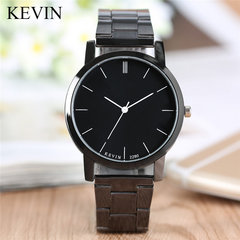 Simple Style KEVIN Watch Women Quartz Wrist Watches Womens Lady Girl Casaul Stainless Steel Wristwatch Gift relogio feminino skone fashion simple watches for women lady quartz wristwatch stainless steel band watch for woman relogio femininos