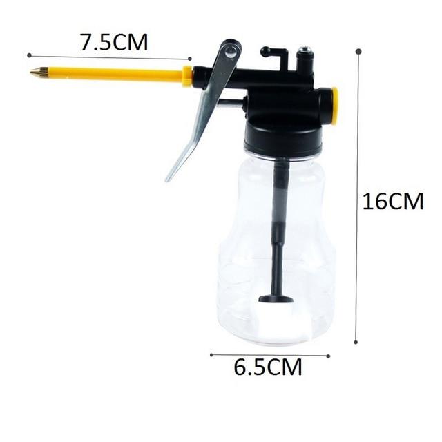 HVLP Lack Spritzpistole Ölpumpe Dosen Schlauch Fett Airbrush WerkzeugmaschiO*QE