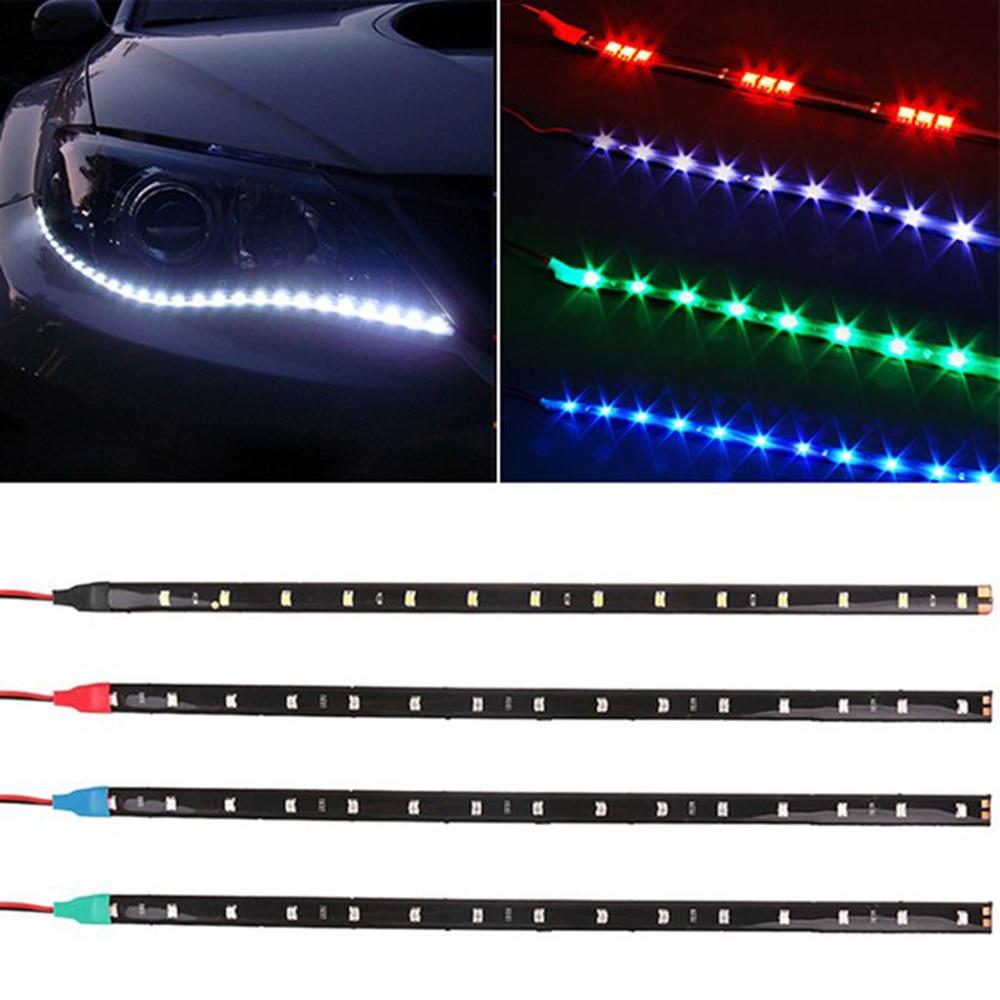 1 ζεύγος 12V 30cm 15SMD LED αυτοκίνητο Daytime - Φώτα αυτοκινήτων