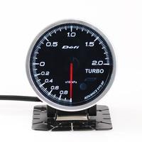 Defi Auto Gauge Meter Water temperature Oil Temperature Oil Pressure RPM Tachometer Vacuum Turbo Boost With Electronic Sensors