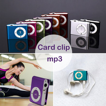 Portable MP3 Player Mini Clip MP3 Player with TF Slot Jack N