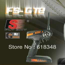 ФОТО 10PCS FS FS-GT2 2.4G 2CH Digital Radios Kit for hsp hpi himoto RC Car/Boats